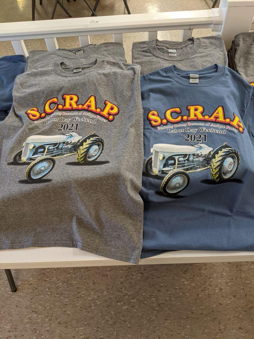 S..C.R.A.P. 2021 T-shirts