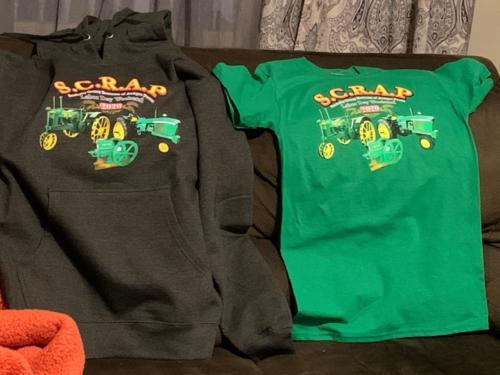 2020 SCRAP shirts